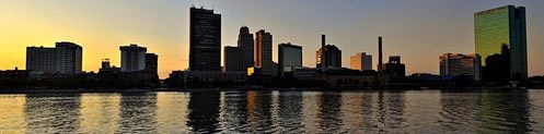 Downtown Toledo Skyline Photo