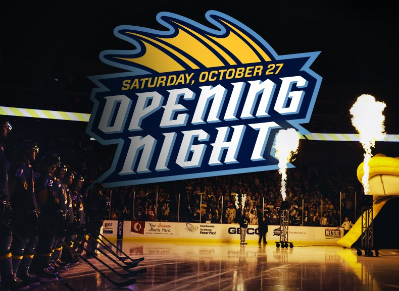 2018 Toledo Walleye Opening Night
